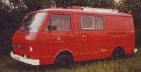 Das TSF auf einem Volkswagen LT31